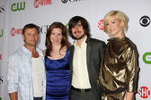 Grant Show, Lennon Parham, Nicolas Wright, & Jenna Elfman — Stock Photo