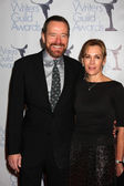 Bryan Cranston & Wife — Stockfoto