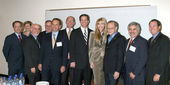 VIP's, Panelists, and Shawn, Larry King — Stock Photo
