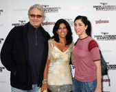 Michael Nouri & Sarah Silverman — Stock Photo