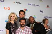 Yvonne Strahovski, Zach Levi, Mark Christopher Lawrence, Joshua Gomez — Stock Photo