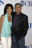 Julie Chen & Les Moonves — Stock Photo