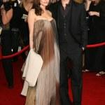 Brad Pitt and Angelina Jolie — Stock Photo #12941657