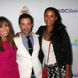 Melissa Rivers, George Kotsiopoulos, Joy Bryant — Stock Photo