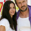 Courtney Cox and David Arquette — Zdjęcie stockowe