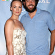 Yvonne Strahovski and Zach Levi — Stock Photo #12945293