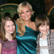 Sammi Hanratty, Kristin Chenoweth, and Field Cate — Stock Photo