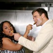 Sherri Shepherd, Cameron Mathison - Foto de Stock  