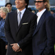 Hideki Matsui, Brad Pitt - Foto Stock