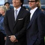 Hideki Matsui, Brad Pitt — Stock Photo #12948035