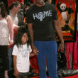 Wayne Brady &amp; Daughter - Stock fotografie