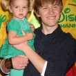 Mia Talerico &amp; Jason Dolley - Foto de Stock  