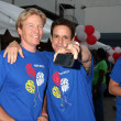 Jack Wagner, Christian LeBlanc - Lizenzfreies Foto