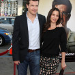 Jason Bateman &amp; wife - Stock fotografie