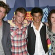 Robert Pattinson, Cam Gigandet, Taylor Lautner, Kristin Stewart — Stock Photo