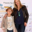 Постер, плакат: Natasha Henstridge and son Asher