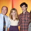 Larry Miller, Meaghan Martin, Ethan Peck, and Lindsey Shaw — Stock Photo #12949059