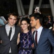 Stock Photo: Robert Pattinson, Kristen Stewart, Taylor Lautner
