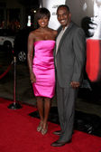 Viola Davis & husband — Stock Photo