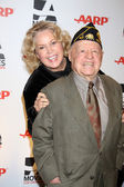Jan and Mickey Rooney — Stock Photo