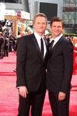 Neil Patrick Harris and David Burtka — Stock Photo