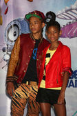 Jaden Smith, Willow Smith — Stock Photo