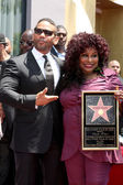 Benny Medina, Chaka Kahn — Stock Photo