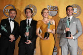 Christoph Waltz, BJ Novak, Diane Kruger, Eli Roth — Stock Photo