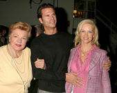Ester Williams, Lorenzo Lamas, Barbara Moore — Stock Photo
