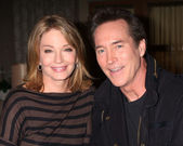Deidre Hall, Drake Hogestyn — Stock Photo