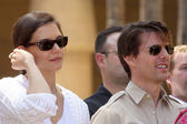 Katie Holmes & Tom Cruise — Stock Photo