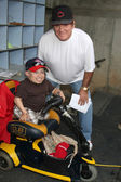 Verne Troyer and Pete Rose — Stock Photo