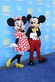 Mickey Mouse & Minnie Mouse — Stock Photo