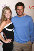 Maggie Lawson, James Roday — Stock Photo