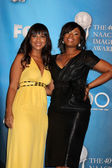 LisaRaye & Jennifer Hudson — Stock Photo