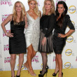 Kim Richards, Kathy Hilton, Paris Hilton, Kyle Richards — Stock Photo
