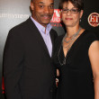 Rocky Carroll & Wife  — Stockfoto