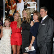Julianne Hough, Family - Stock Photo