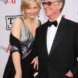 Diane Sawyer, Mike Nichols - 图库照片
