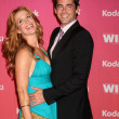 Stock Photo: Poppy Montgomery & Husband