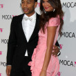 Stock Photo: Singer John Legend (L) and model Chrissy Teigen