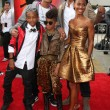 Постер, плакат: Jaden Smith Trey Smith Willow Smith Will Smith Jada Pinkett Smith