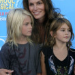 Постер, плакат: Cindy Crawford & her children