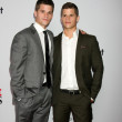 Max Carver, Charlie Carver - Stock Photo