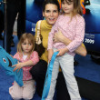 Stock Photo: Angie Harmon & Daughters