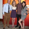 Larry Miller, Meaghan Martin, Ethan Peck, and Lindsey Shaw — Stock Photo #12957685