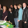 The Cast of CSI  including Lawrence Fishburne, William Petersen, and Marg Helgenberger — Stock Photo