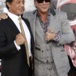 Sylvester Stallone, Mickey Rourke — Stock Photo