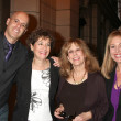 Steve Silverman, his Mom, Denise Alexander, Genie Francis — Stock Photo #12958272