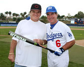 Pete Rose and Steve Garvey — Stock Photo